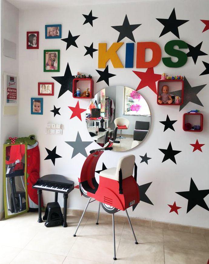 39 best sillas de peluquer a para ni os kids chairs - Sillas de espera para peluqueria ...