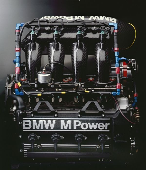 BMW M3 racing engine, team A touring car 1990