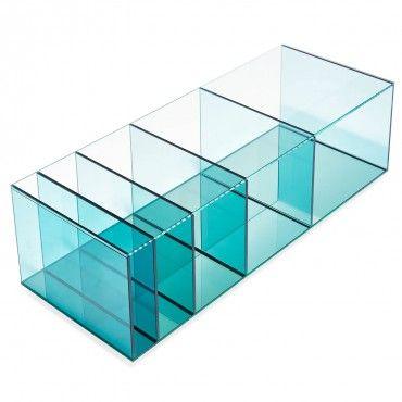Glas Italia Deepsea Blue Coffee Table