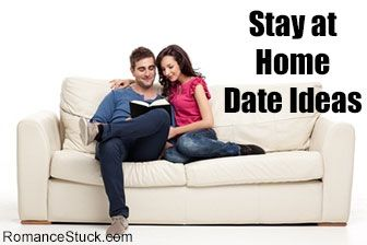 romantic stay at home date ideas