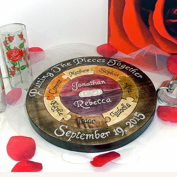 Hey, I found this really awesome Etsy listing at https://www.etsy.com/listing/244243989/unity-ceremony-wedding-puzzle-unity