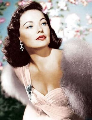 Gene Tierney was a brunette beauty know for her demure and gentle roles but capable of playing the steel-willed and single-minded schemer too.