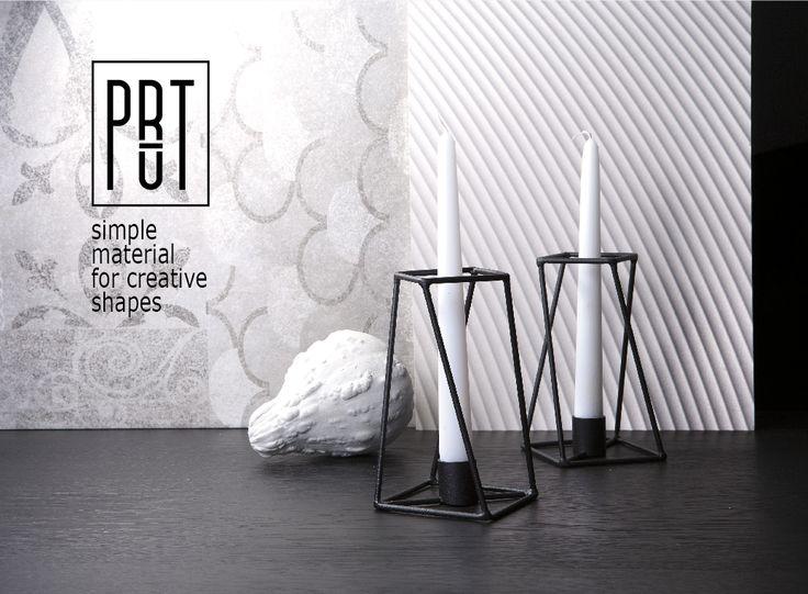 PRUT candle holder design TWO