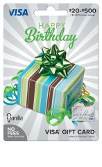 The Ultimate Birthday Gift Celebrate Their Special Day By Letting Vanilla Do Shopping Simply Add Any Amount From 20 Up To 500 This