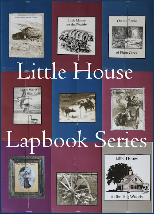Free Complete Little House on the Prairie Series Lapbook Set