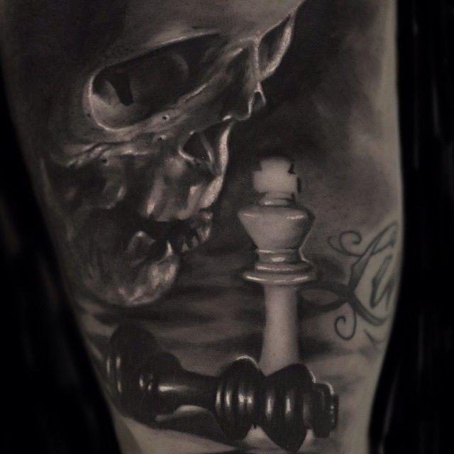 Checkmate... #tattoo #frankenstein #monster #horror # ...