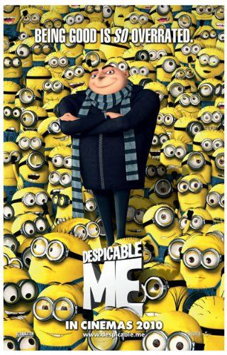 Despicable Me Poster Movie Double Sided 11x17 Julie Andrews Ken Jeong Jason Segel Steve Carell @ niftywarehouse.com