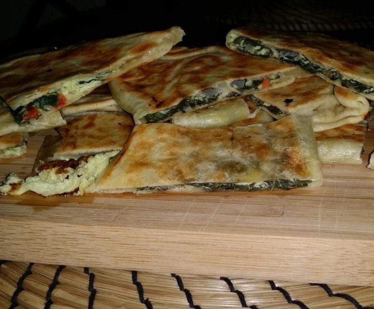Spinach & Fetta Gozleme