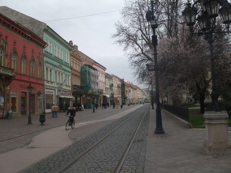 main str, Kosice, Slovakia