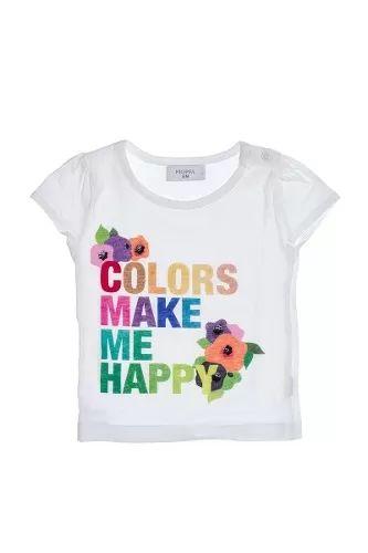 Remera Colors Pioppa Para Beba Rb-cereza - $ 225,00