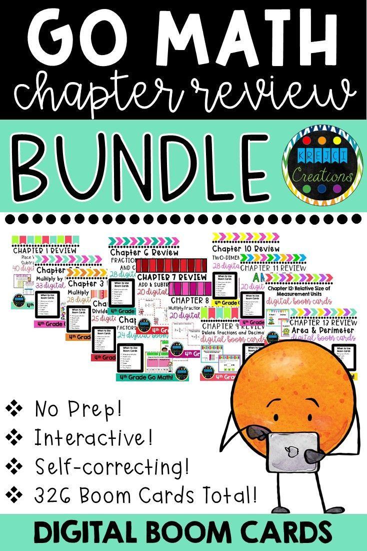 Go Math Chapter Review BUNDLE