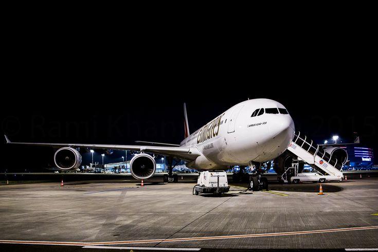https://flic.kr/p/BHKAqf | Emirates  A340-541 | Last A340-500 in Emirates fleet - A6-ERE / MSN 572  / F-WWTV