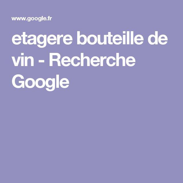 etagere bouteille de vin - Recherche Google