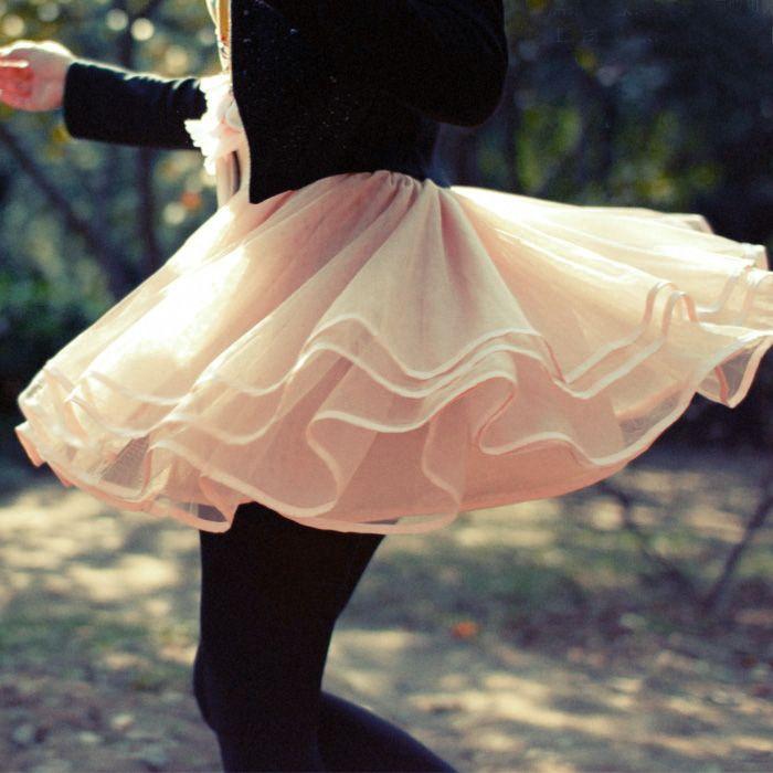 Lovely Tulle Short Skirt, Light Pink Tulle Skirts, Champagne Skirts, Women Skirts, Skirts