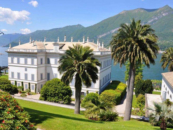 Lago Di Como Villa Melzi Bellagio Italy Il Bel