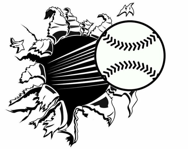 545 best Softball SVGs images on Pinterest