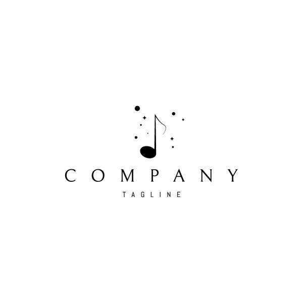 New Music Logo Music Neues Musiklogo Nouveau Logo De Musique
