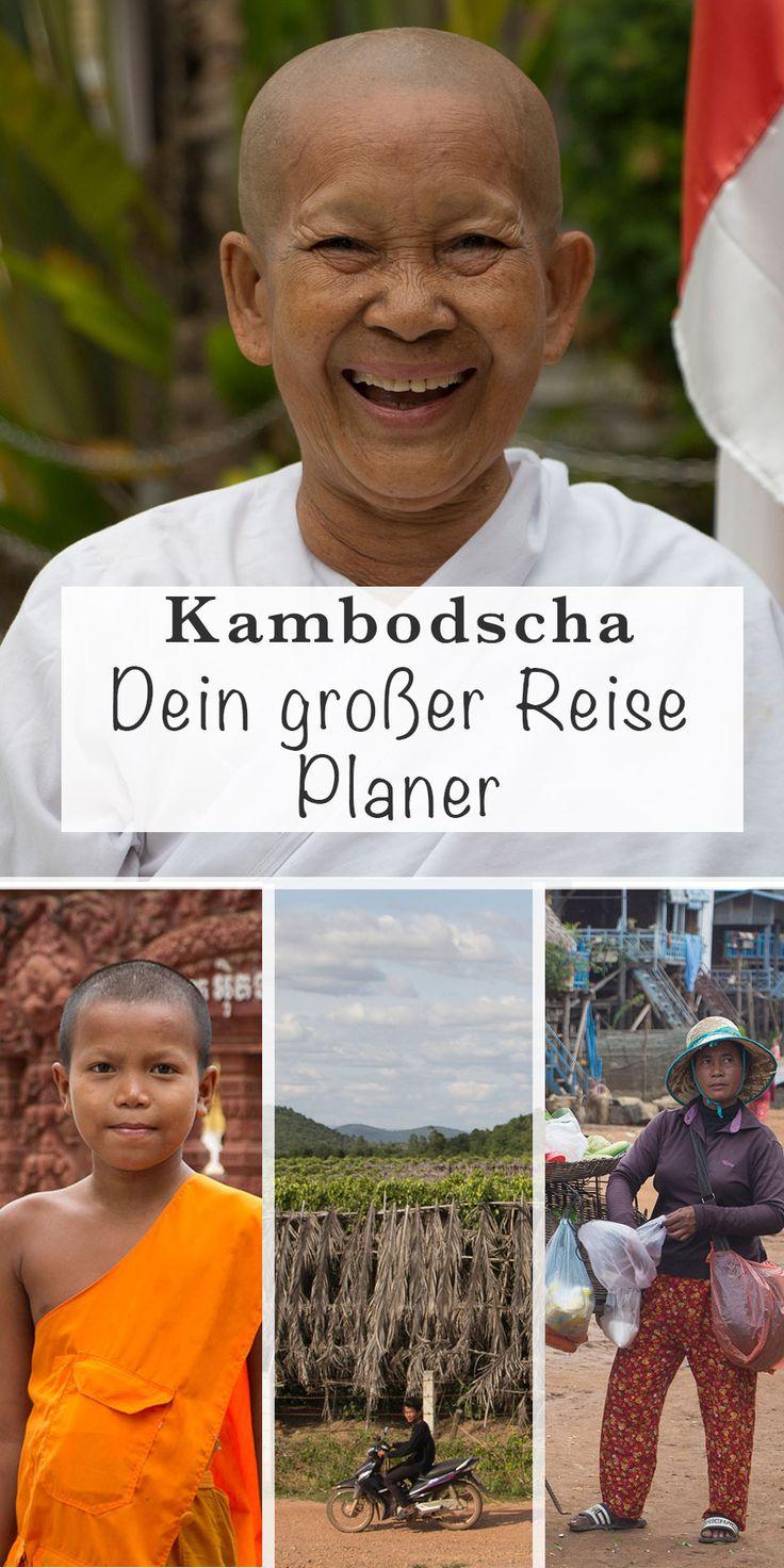 Dein großer Reise Planer für Kambodscha. Alles, was du für deine Kambodscha-Reise wissen solltest: Infos, Land, Leute, Visum, Sicherheit, Kosten & Budget, Unterkünfte, Transport & vieles mehr. Für die perfekte Reiseplanung für Backpacking in Kambodscha. #Kambodscha #familienreiseblog