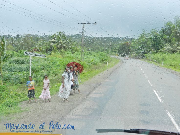 Dia de lluvia Fiyi