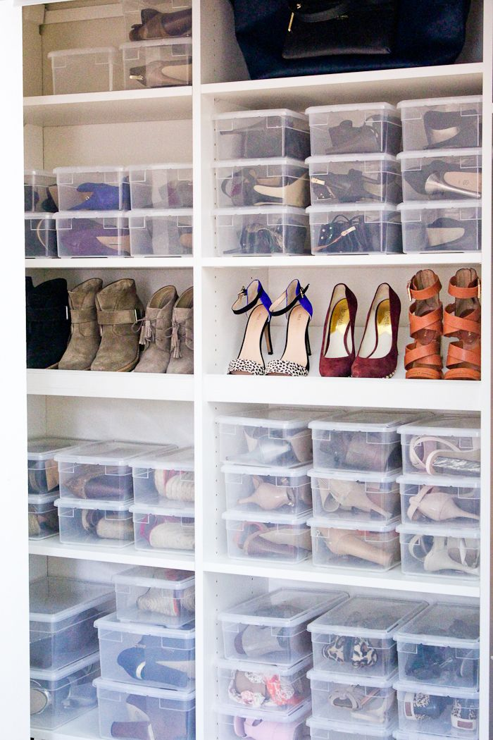 Closet re-do! Shoes, Bags and More