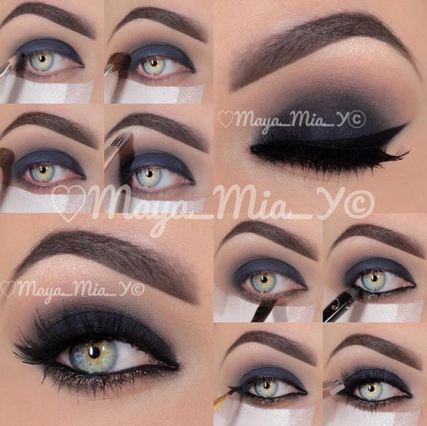 As incríveis maquiagens de Maya Mia