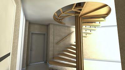 Sergey Batarchuk: Дизайн лестницы по существующему каркасу By NANADE...
