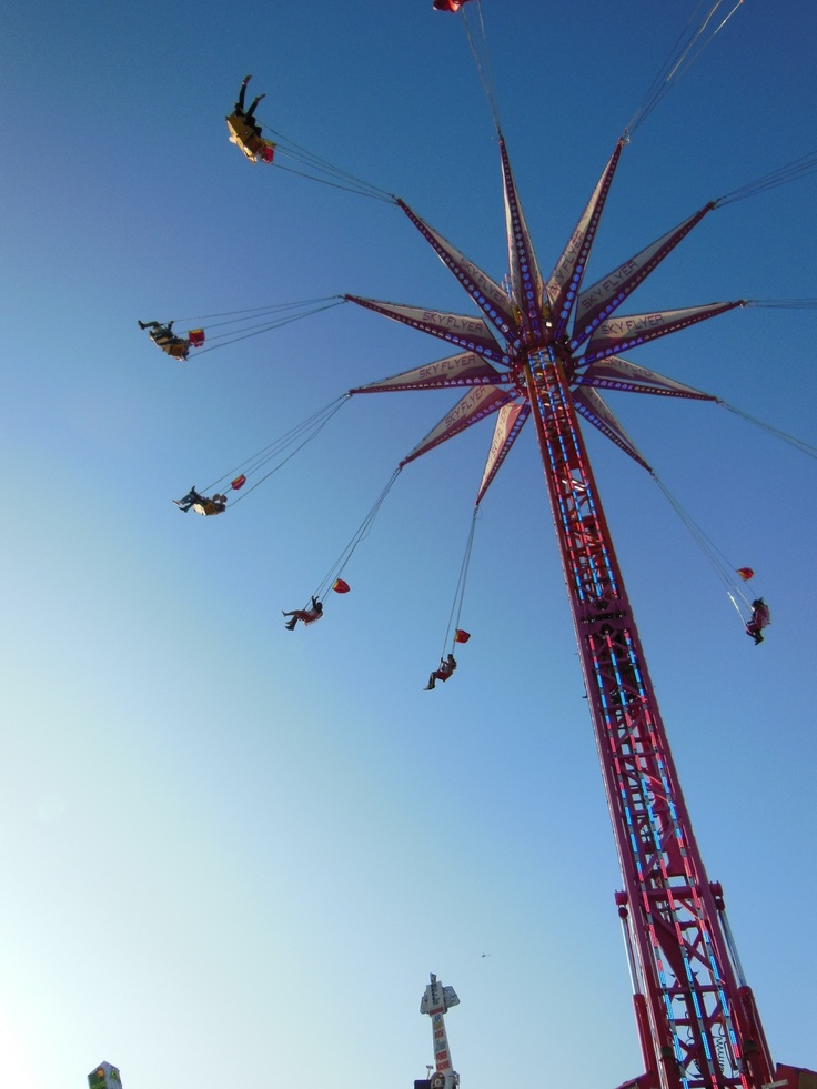 Up,up and away Melbourne Show