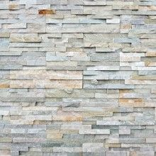 Decoratons - Decora fácil - Papel de Parede Pedras Canjiquinha Tons Cinza e Amarelado