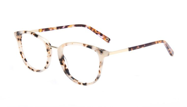 Affordable Fashion Glasses Cat Eye Eyeglasses Women Ella Gold Tortie Tilt