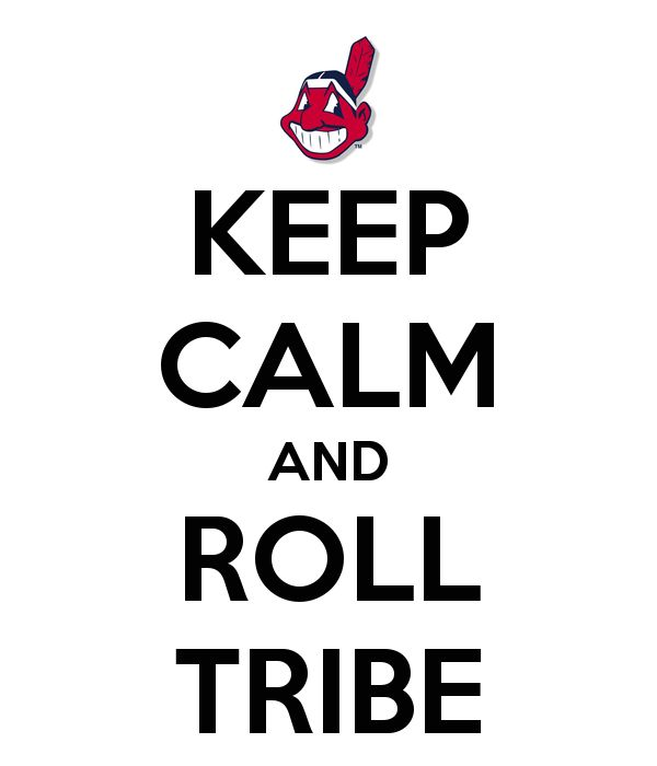 KEEP CALM AND ROLL TRIBE
