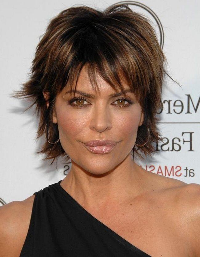 Frauen Frisuren Ab 40 Frisuren Pinterest Short Cuts And Hair Style