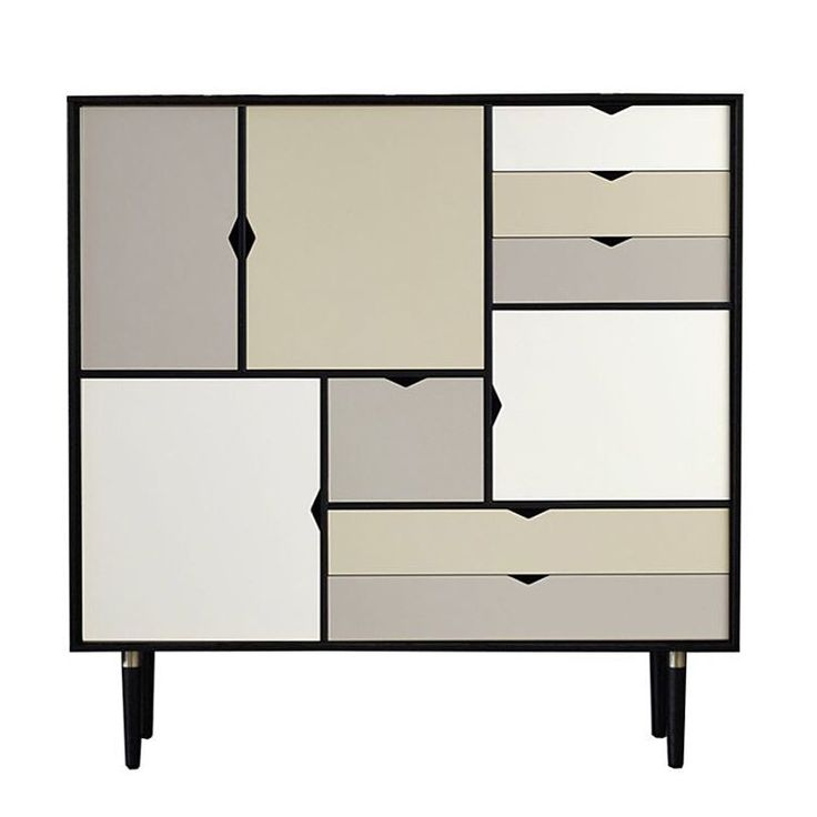 """""""If you are a fan of the #minimalist lines of #modern #scandinaviandesign, feast your eyes on these #shelves. The #S3 #storage solution is made of solid…"""""""