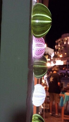 Lamp with urchin by Officina del mare