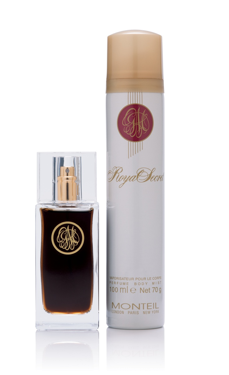Monteil: Royal Secret 50ml Eau de Toilette Gift Set