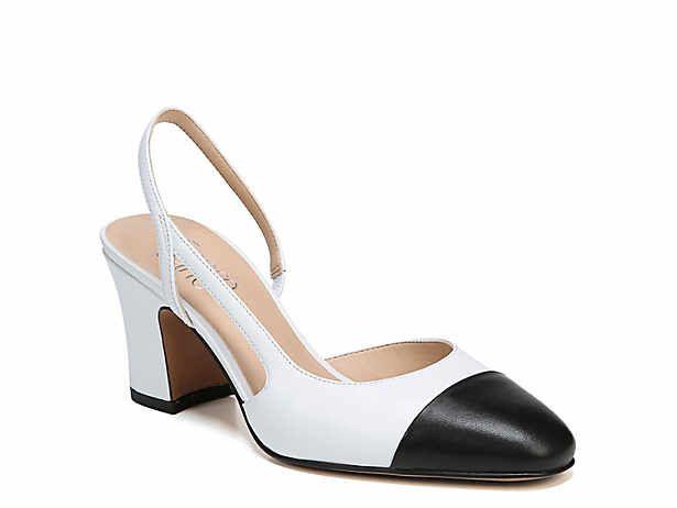 Women's Brown \u0026 White Flat \u0026 Low Heel
