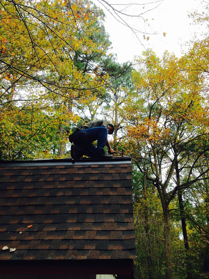 Best Final Touches On A Home In Raleigh Nc Installing A Gaf 640 x 480