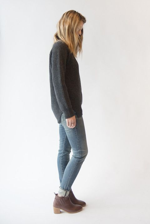 """The """"broken in"""" vibe has already been checked off the list with these killer jeans. Roll up with cute boots or go long with your fav flats. On sale now! http://www.shopwmgoods.com"""