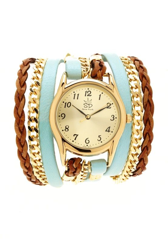 watch - i hate watches but would totally wear this!