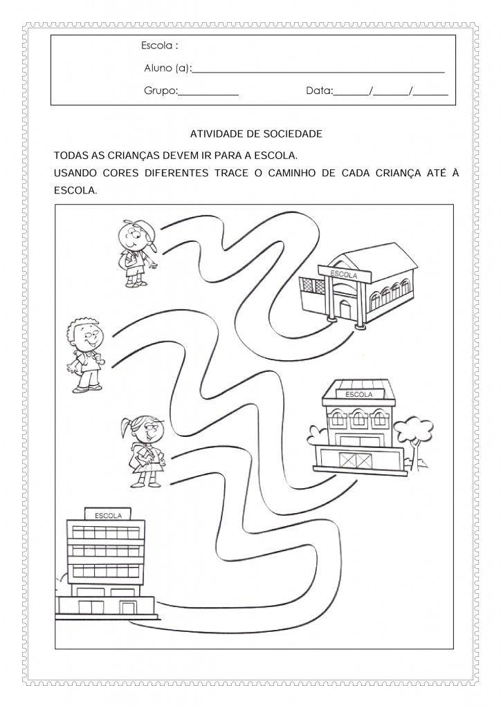 Atividades Para O Maternal 2 De Matematica E Linguagem Com