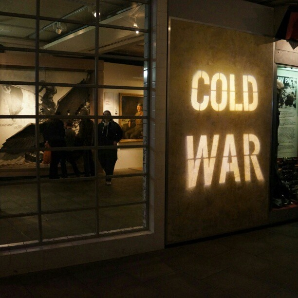 Churchill's War Room in London. Cold War as it's best