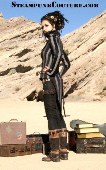 Striped tailcoat steampunk