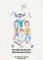 A children's book about a little zombie girl who want to fit in. In this book we follow Enid who meets a boy she likes, she just does not want to eat his brain. This is an illustrated children's story not for the youngest ones.