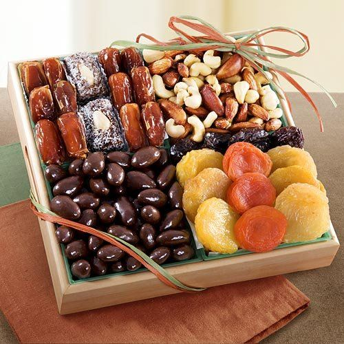 Santa Cruz Dried Fruits, Chocolate and Nuts Crate $29.95