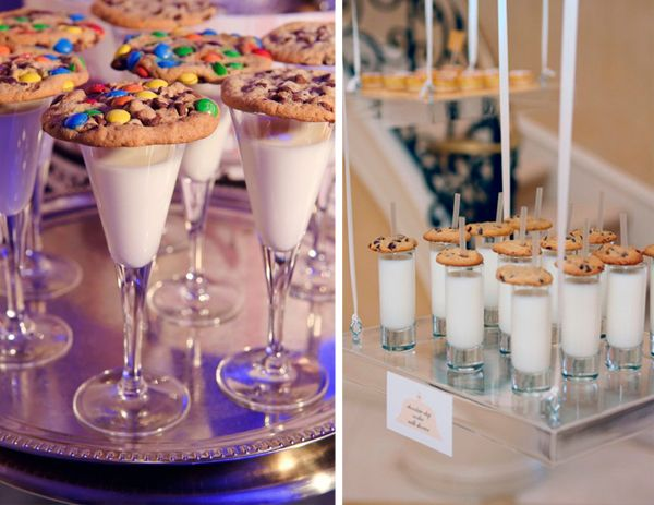 kids new years eve idea- milk & cookies toast #newyearseveparty #newyearsevekids