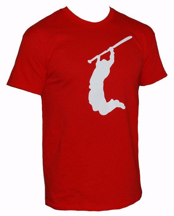Crossfit Mens PULL UP Crossfit tshirt red Shirt by TotallyTShirts