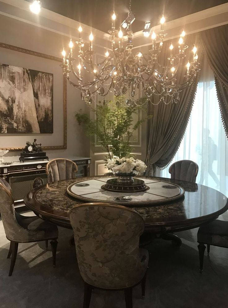 Luxury Baroque Round Dining Table