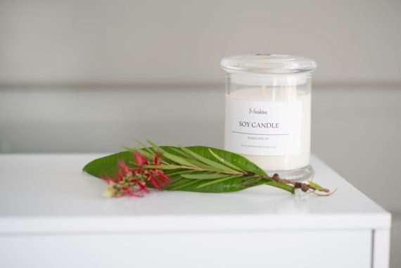 Moohive Pure Soy Candle  Christmas Eve  Eco-friendly  by Moohive