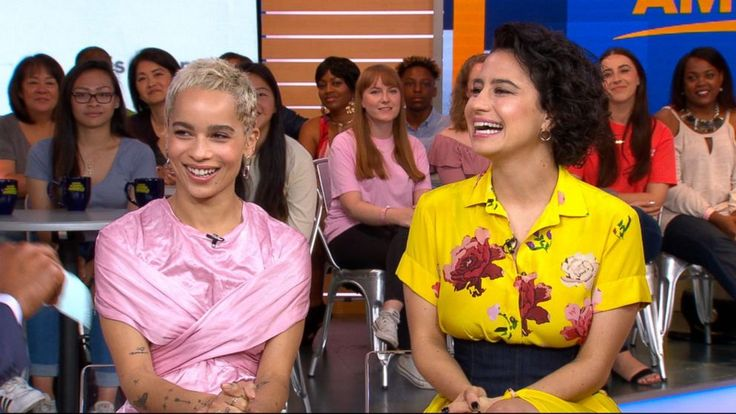 Now Playing: What's Next for the Broads of 'Broad City'       Now Playing: 'Rough Night' star Kate McKinnon reveals which of her 'SNL' characters she'd invite to her bachelorette party       Now Playing: Nik Wallenda's wife to hang by her... - #Decorated, #Hotel, #Kravitz, #Night, #Room, #Rough, #Star, #TopStories, #Zoe