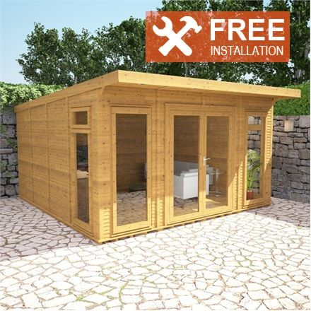 4m x 4m Waltons Insulated Garden Room