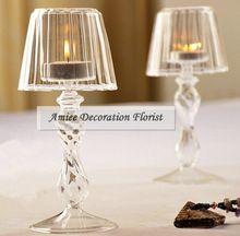 Moderne Candélabres En Cristal 18.5 cm De Mariage Meubles de Maison Lampe De…